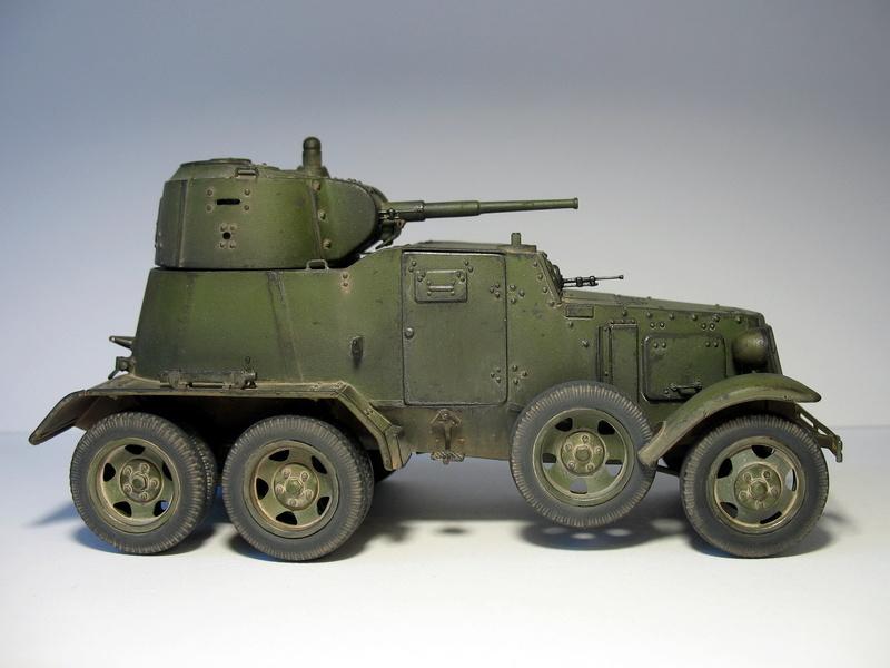 БА-10А от Звезды 1/35 410
