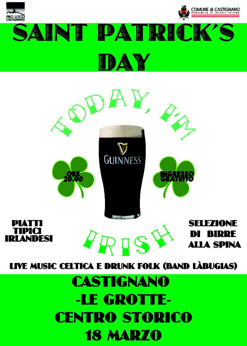 St. Patrick's Day a Castignano (AP) - 18 marzo - Ingresso gratuito Locand10