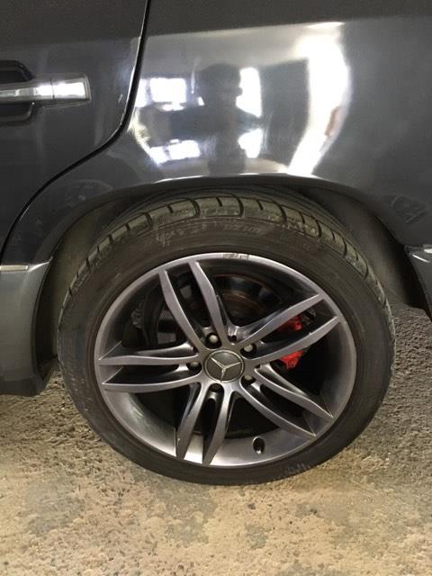 """(VENDO): 4 rodas aro 17"""" - C180/200 2011 a 2013 - R$1.100,00 17467610"""