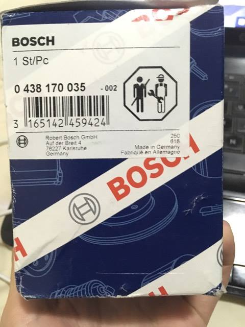 Vendido - Acumulador de Pressao Bosch novo - R$ 600 (serve em diversos modelos) 18685510