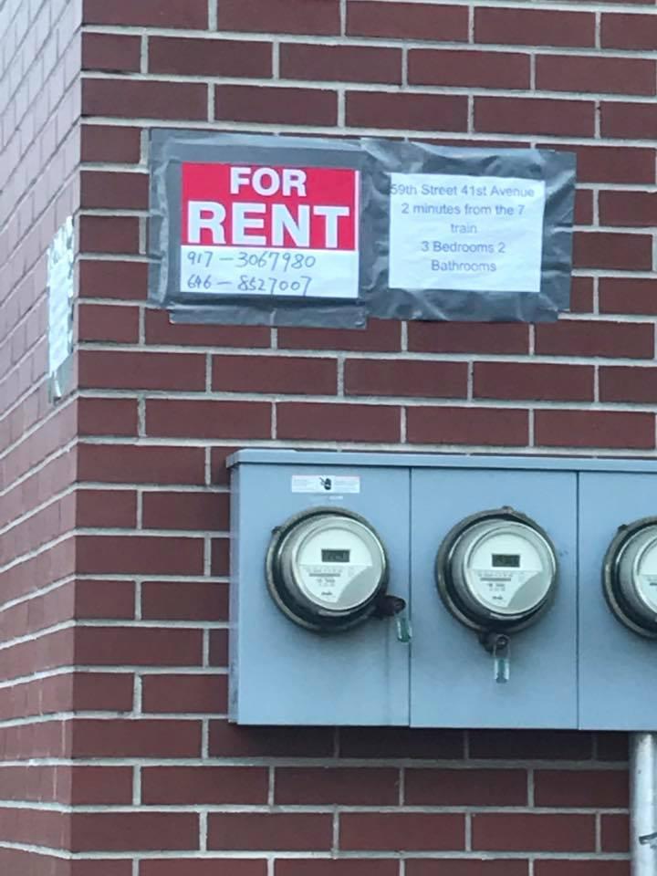 Se Renta apartamento 3 cuartos 2 banos 17201210