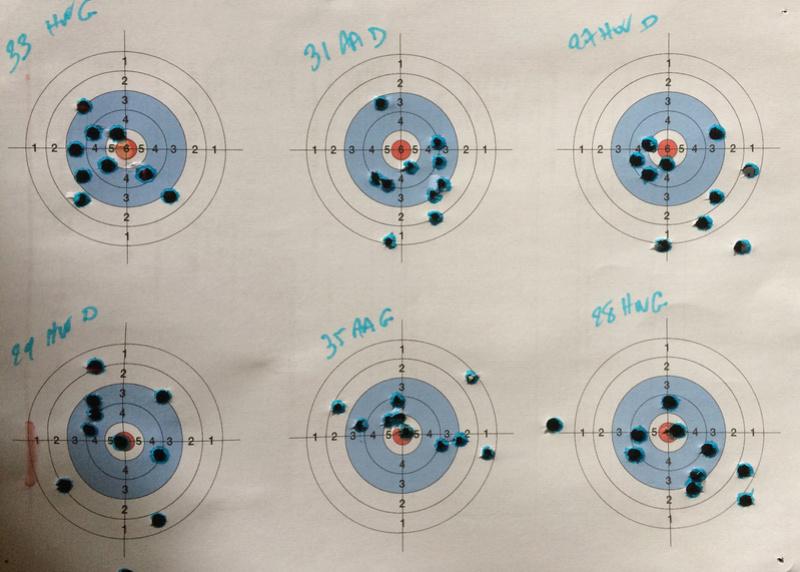 AA S 200 4,5 mm lunette 4-16 x 44 vs Weihrauch HW 77 4,5 mm visée ouverte. Img_0310