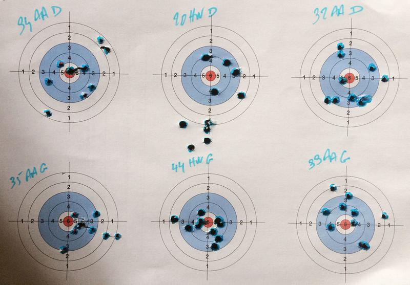 AA S 200 4,5 mm lunette 4-16 x 44 vs Weihrauch HW 77 4,5 mm visée ouverte. Img_0312