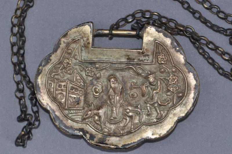Amulette chinoise pour cadenas ... serrure, fermeture ... Lock311