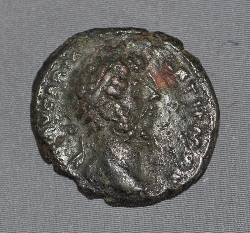 As de Lucius Verus (RIC III n°1448) ... Lucius10