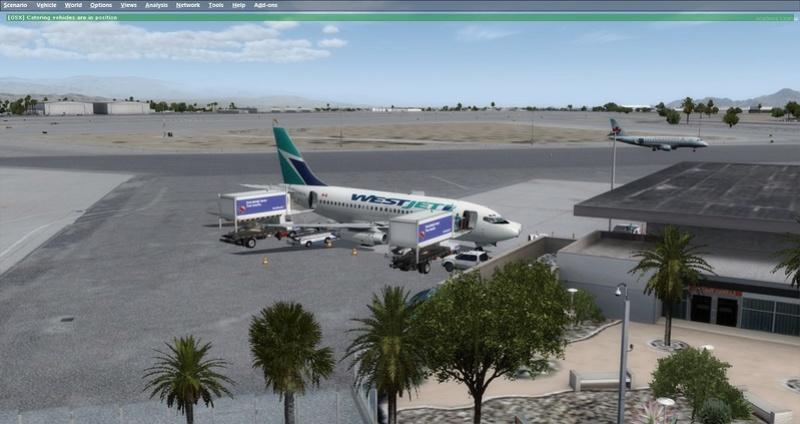 KPSP - CYVR 737-200 Westjet 0111