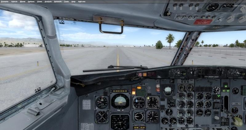 KPSP - CYVR 737-200 Westjet 0311