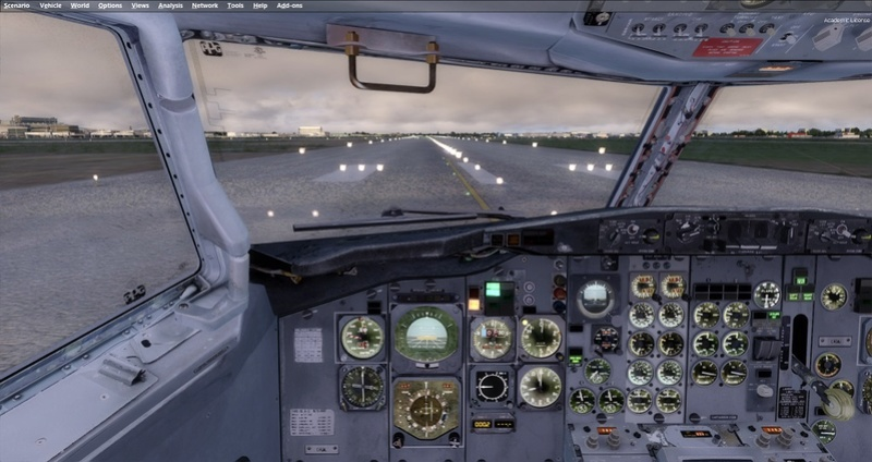 KPSP - CYVR 737-200 Westjet 1411