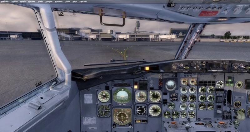 KPSP - CYVR 737-200 Westjet 1611