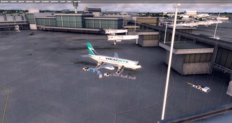 KPSP - CYVR 737-200 Westjet 1711