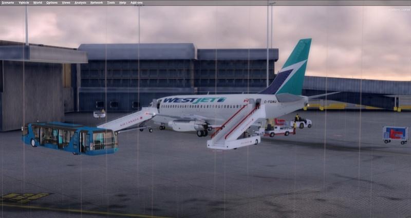 KPSP - CYVR 737-200 Westjet 1811