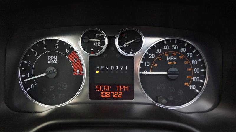 Compteur hummer H3 de 2005 en miles Photo_10