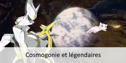 Cosmogonie : mythe de création du monde par les légendaires Cosmog10
