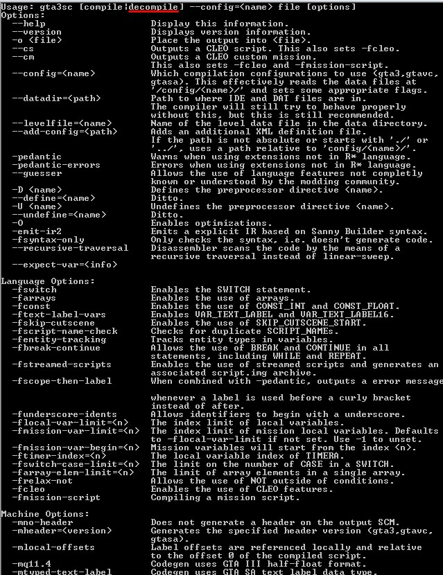 GTA3script: Migração Sanny Builder e Auxílios - Página 5 Screen26