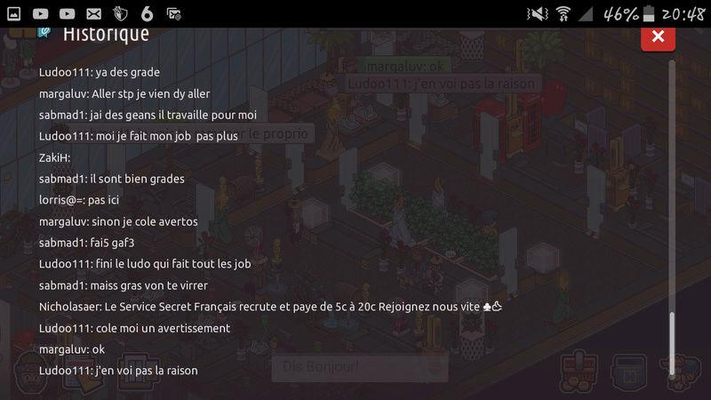 Sanctions / Avertissements Screen34
