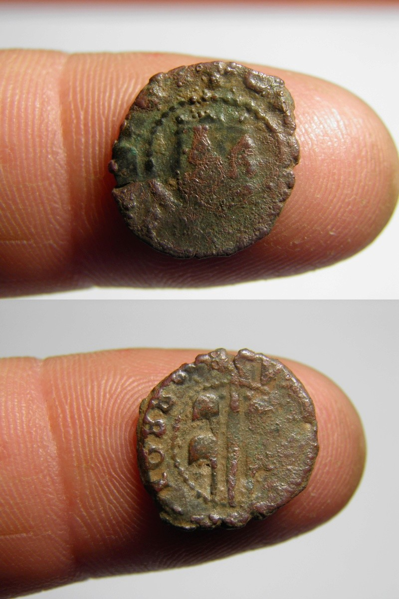 Dinero de Valencia, Carlos II 1688 P4140410
