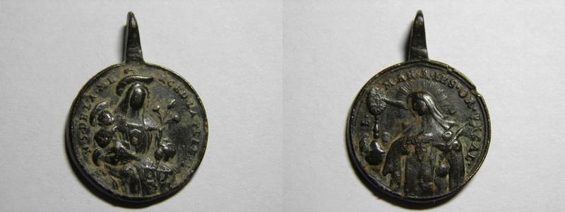 Medalla de Nª. Sª. de la Merced / B. Mariana de Jesús P4250510