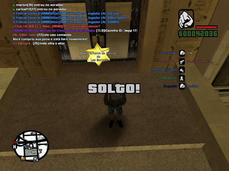 Vitor prendendo 3 seguidos Sa-mp-11