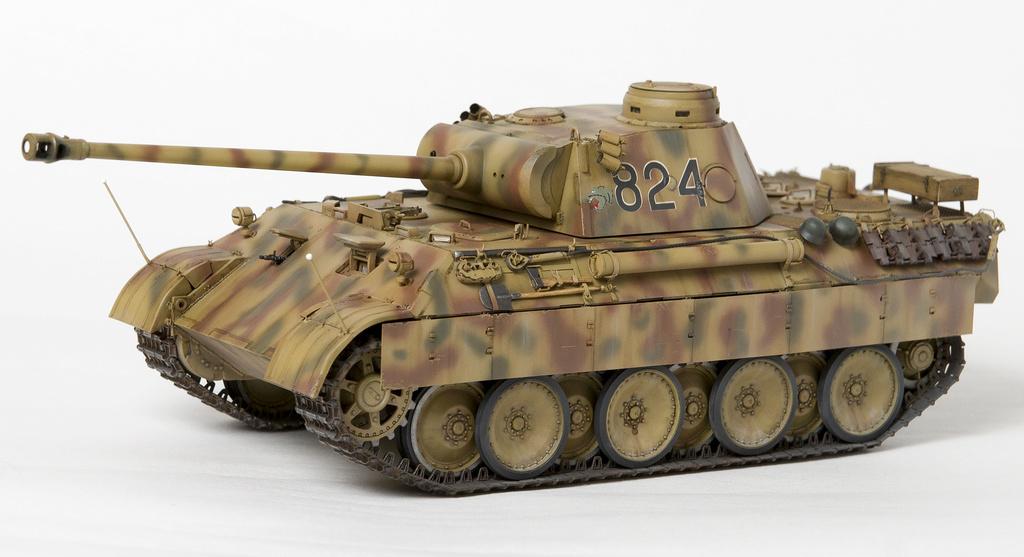 Немецкий средний танк ПАНТЕРА Dsc04924