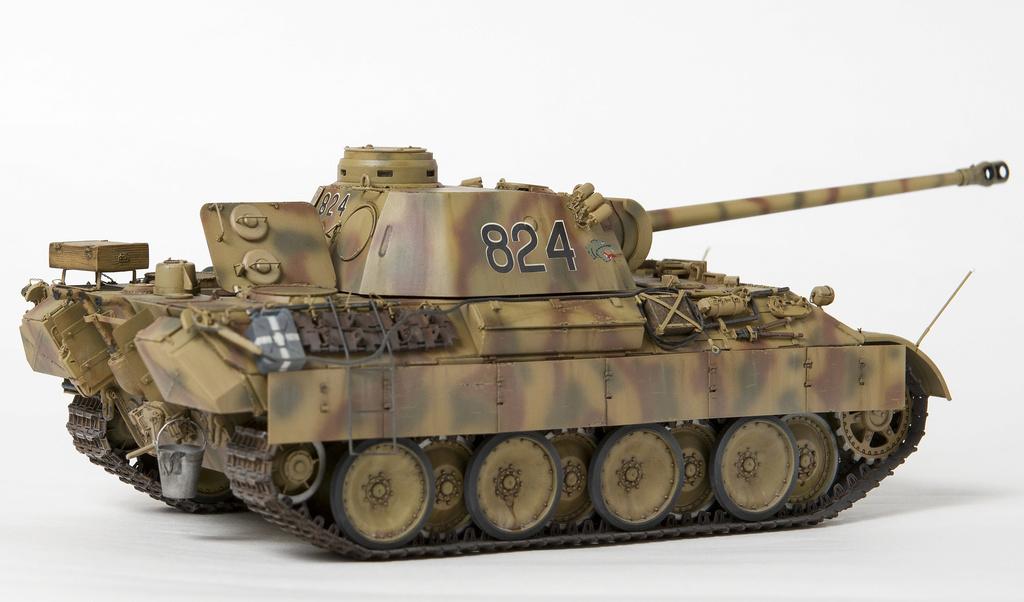 Немецкий средний танк ПАНТЕРА Dsc04927