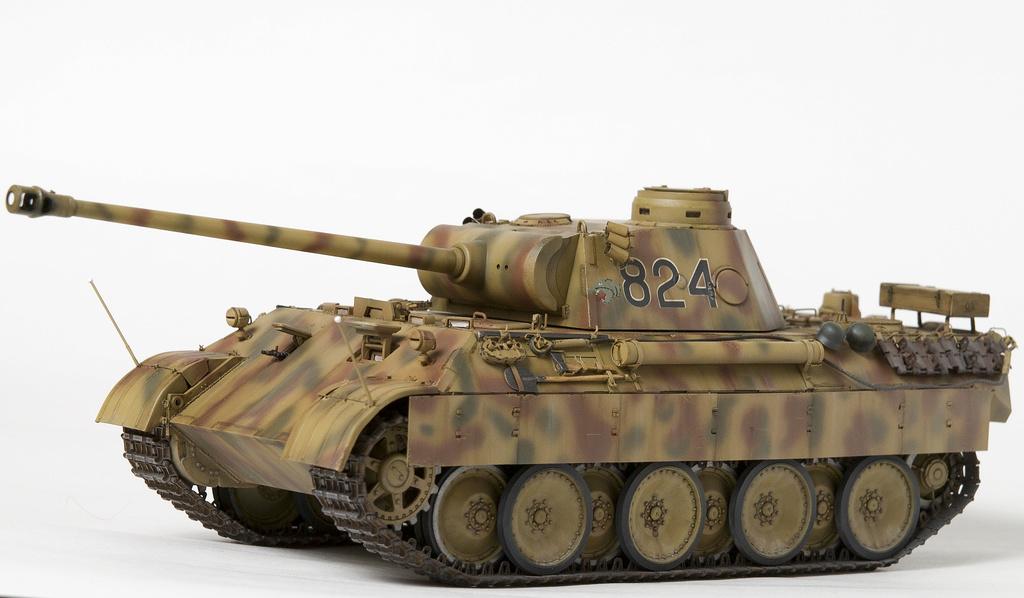 Немецкий средний танк ПАНТЕРА Dsc04932