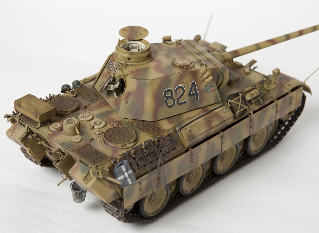 Немецкий средний танк ПАНТЕРА Dsc04933
