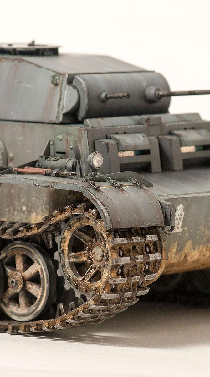 Pzkpfw.II Ausf.J  Dsc05023