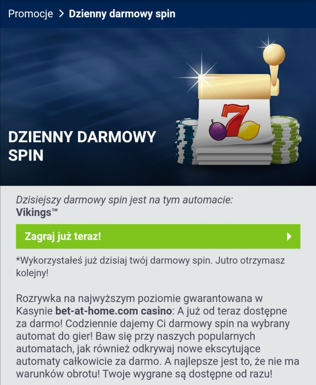 Bet-at-home kasyno - darmowe bonusy - Page 38 Screen14