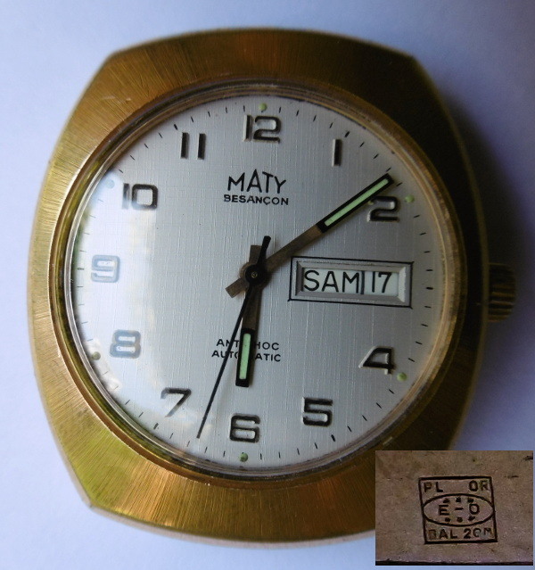 Jaeger -  [Postez ICI les demandes d'IDENTIFICATION et RENSEIGNEMENTS de vos montres] - Page 41 Maty_110
