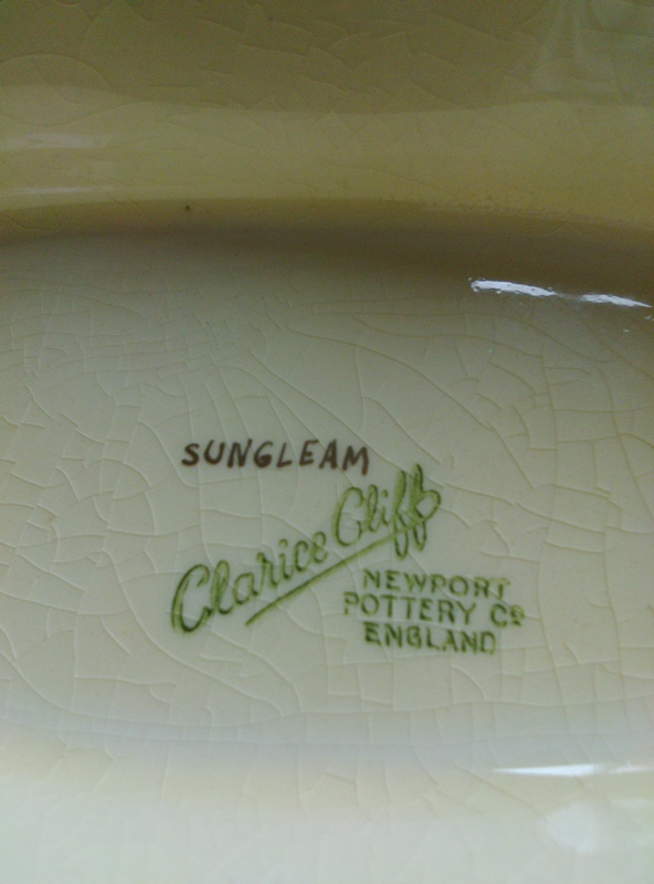 Clarice cliff sungleam? 14898416