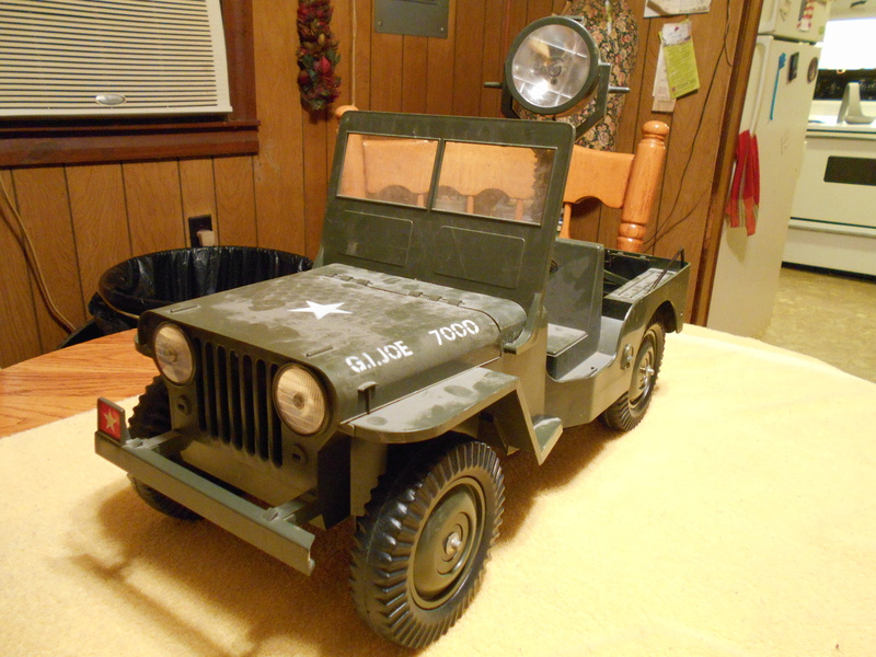 Clean-Up And Restoration Of My Aquirred 5 Star Jeep Combat12
