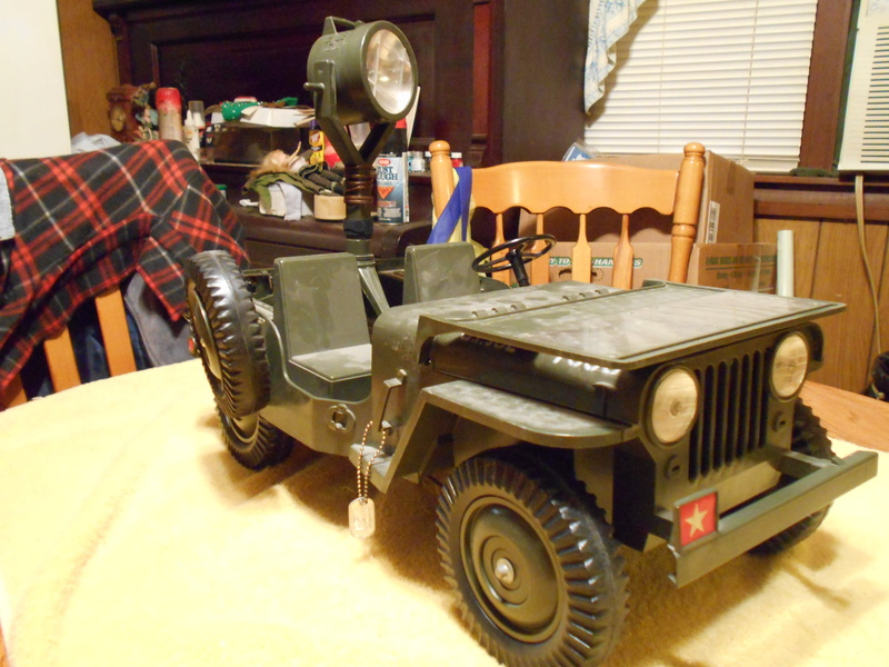 Clean-Up And Restoration Of My Aquirred 5 Star Jeep Combat13