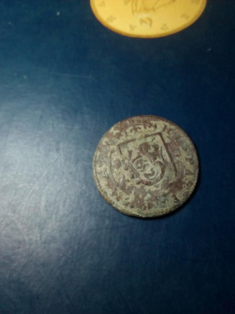 8 maravedis de felipe IV, ceca de Segovia con resello. Img_2128