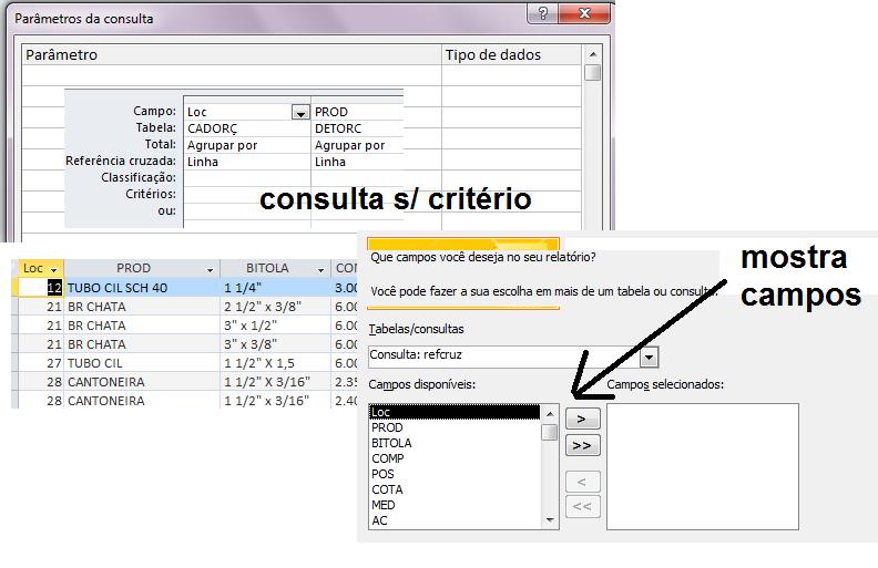 [Resolvido]Critério consulta referencia cruzada Op111