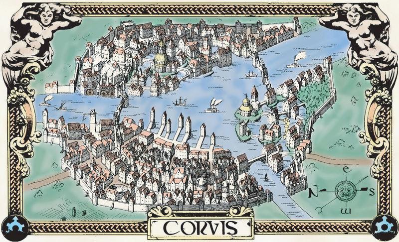 """Corvis. """"Ciudad de Fantasmas"""". Ley y Castigo Corvic10"""