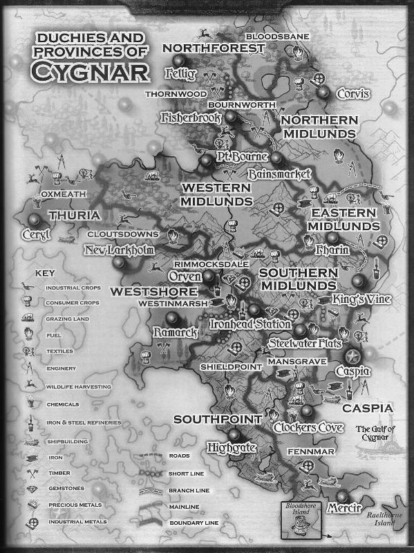 """Corvis. """"Ciudad de Fantasmas"""". Ley y Castigo Cygnar11"""