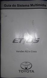 Vendo central multimídia etios xls ou cross  20170313