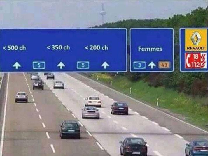 """Images drôles et insolites """"thème automobile"""" Voie_s10"""