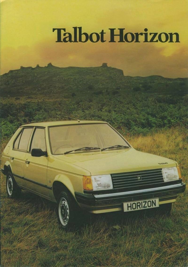 CATALOGO TALBOT HORIZON 1979 U.K. 0110