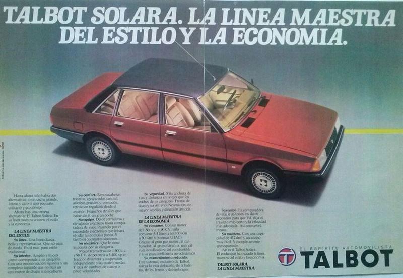 ANUNCIOS TALBOT SOLARA  10365810