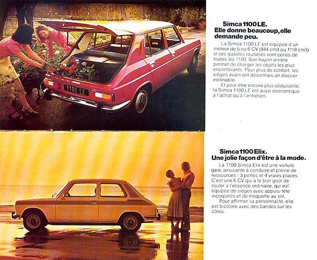 CATALAGO CHRYSLER SIMCA AÑO 1976 76-41011