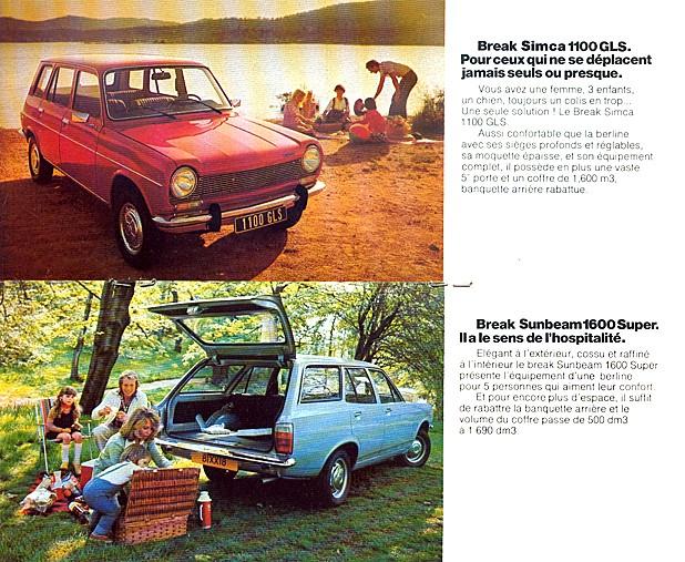 CATALAGO CHRYSLER SIMCA AÑO 1976 76-71011