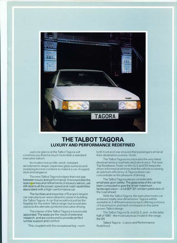 CATALOGO TALBOT TAGORA GL INGLES C9690_11