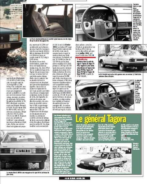 REPORTAJE TALBOT TAGORA EN FRANCES  Fb_img19