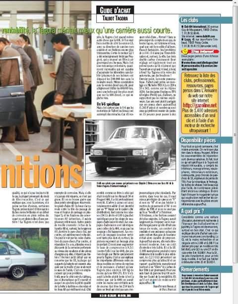 REPORTAJE TALBOT TAGORA EN FRANCES  Fb_img22