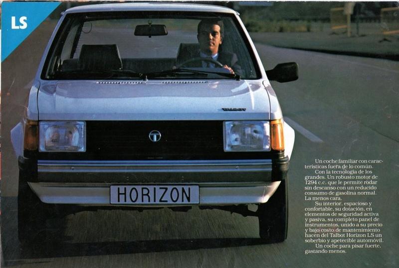 CATALOGO TALBOT HORIZON ESPAÑA 1981 Img15710