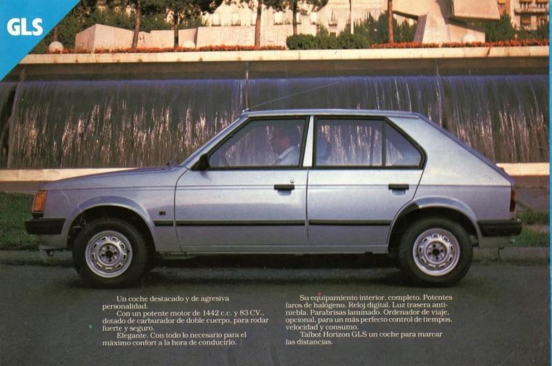 CATALOGO TALBOT HORIZON ESPAÑA 1981 Img16010