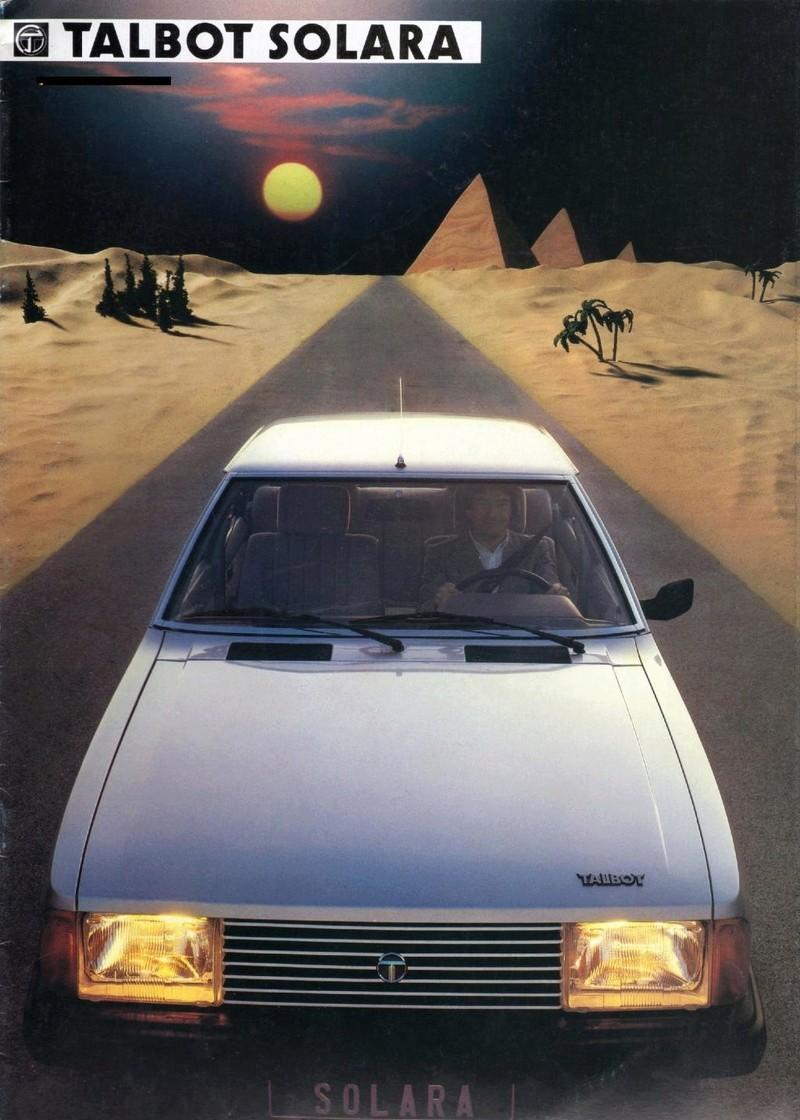 CATALOGO TALBOT SOLARA AÑO 1984 EN HOLANDES  Img21910