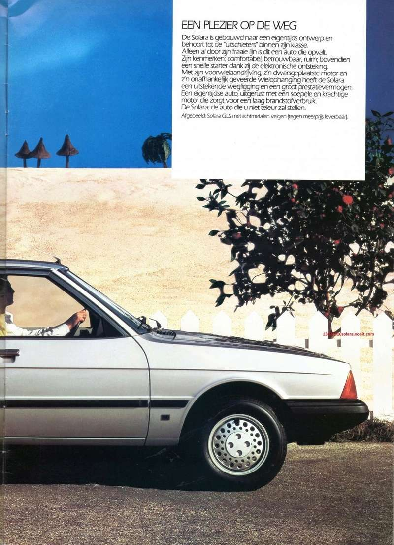 CATALOGO TALBOT SOLARA AÑO 1984 EN HOLANDES  Img22110