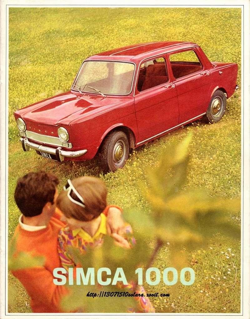 CATALOGO SIMCA 1000 EN FRANCES  Img33010